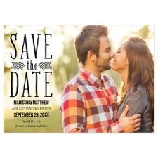 Aztec Overlay Save the Date Announcement for