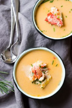 Dairy Free Alaska King Crab Bisque - 20 minutes from start to finish! | Paleo friendly! wickedspatula.com