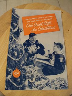 Vtg 1954 BSA Catalog Cub Scout Gifts for Christmas Great Content Ephemera Paper | eBay