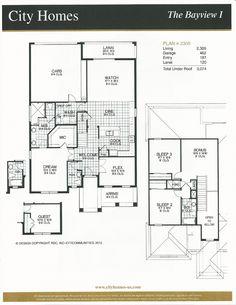 Windermere Terrace City Homes Bayview I Floor Plan in Windermere FL
