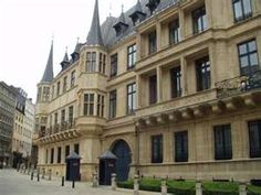 Ducal Palalce in Luxembourg City