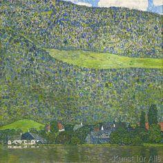 Gustav Klimt - Unterach am Attersee