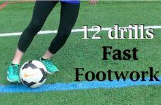 Fast Feet Beginner Soccer Drills #soccerexercises