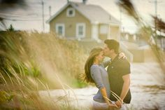 engagement at the seashore by Kate Connolly