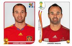 Có vẻ như thời gian không thể tàn phá nhan sắc của Iniesta. http://ole.vn/world-cup-2014/