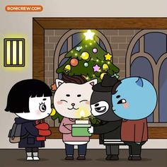 This is way too cute! I like how Duk Hwa was cartoonized.
