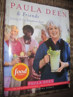 Autographed Paula Deen Cookbook on ebay!