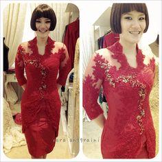 Vera Kebaya - Indonesia Vera Kebaya, Kebaya Lace, Kebaya Dress, Kebaya Brokat, Batik Kebaya, Batik Dress, Kebaya Simple, Kebaya Wedding, Modern Kebaya