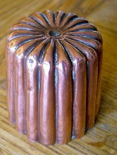 Copper Aspic Mold: