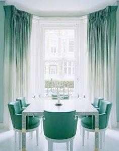 jade green living room