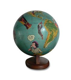 Hey, I found this really awesome Etsy listing at https://www.etsy.com/listing/90001327/rescue-me-vintage-globe-art