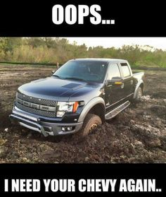 Oops!! Funny Car Quotes, Truck Quotes, Truck Memes, Funny Video Memes, Funny Jokes, Truck Humor, Funny Shit, Ford Humor, Ford Jokes