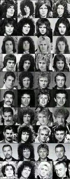 Queen through the years… Freddie Mercury John Deacon, Queen Photos, Queen Pictures, Queen Band, Save The Queen, I Am A Queen, Queen Queen, White Queen, Bryan May