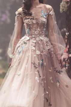 Paolo Sebastian // Haute Couture - Spring 2018 - Laughing with Fairies Ball Dresses, Ball Gowns, Prom Dresses, Formal Dresses, Spring Dresses, Elegant Dresses, Pretty Dresses, Beautiful Dresses, Fairytale Dress