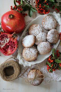 Biscotti alla farina di riso, cioccolato e melograno per Altromercato | pensieri e pasticci | Bloglovin'
