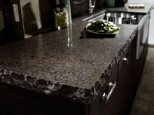 Williston#williston Kitchen Counter Inspiration, Kitchen Ideas, Pantry Ideas, Kitchen Designs, Kitchen And Bath, New Kitchen, Green Kitchen, Granite Edges, Granite Slab