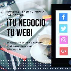 Mándanos tu correo para saber mas. @tuwebcolombia Paginas Webs, Instagram, Hot, Did You Know