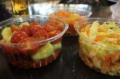 Vegan Food Pots at Food Hall - Vegan in Sofia - Charlie on Travel