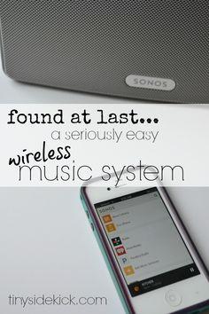 Maybe I do love technology…This Sonos Wireless Music System Is Rocking My World! #sonos #wirelessmusic
