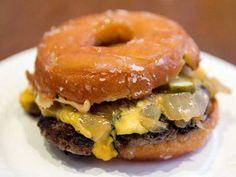 Doughnut Burger a.k.a. The Luther