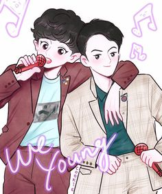 we young~🎵✨