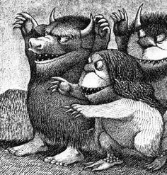 Where the Wild Things Are. Far and away, my favourite children's book. RIP Maurice Sendak who died today, aged 83.