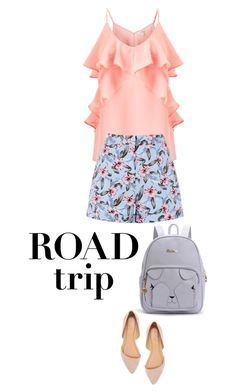 """road trip"" by ecem1 ❤ liked on Polyvore featuring Miss Selfridge and Charlotte Russe"
