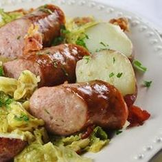 Kielbasa and Cabbage Allrecipes.com