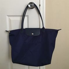 2f03cc41f Long champ Le Pliage Neo Large tote This is a beautiful long champ with  beautiful blue