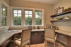 Office - contemporary - home office - minneapolis - Highmark Builders