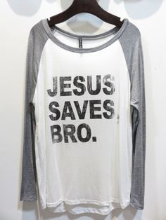 Jesus Saves Bro. Graphic Tee