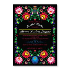 Fiesta Invitation, Cinco de Mayo Party, Mexican Invitation, Fiesta Bridal Shower…