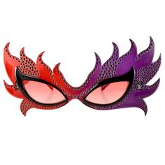 Includes one pair of feather mask glasses one-size fits most adults.
