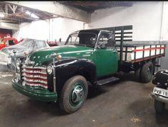 Chevy Truck - 1951 Dump Trucks, Cool Trucks, Big Trucks, 1949 Chevy Truck, Chevrolet Trucks, Classic Gmc, Classic Trucks, Truck Ramps, Classy Cars