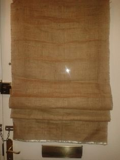 Details About Made To Measure Thermal Light Brown Hessian