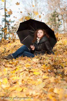 Осенняя фотосессия для девушки