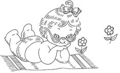 Pretty Babies quilt 3