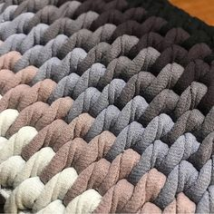 """The location where building and construction meets style, beaded crochet is the act of using beads to decorate crocheted products. """"Crochet"""" is derived fro Diy Crafts Crochet, Crochet Home, Bead Crochet, Crochet Motif, Crochet Stitches, Crochet Rug Patterns, Crochet Carpet, Easy Crochet Blanket, Tunisian Crochet"""