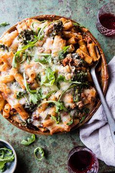 Rigatoni Broccoli Rabe Bake | halfbakedharvest.com @hbharvest