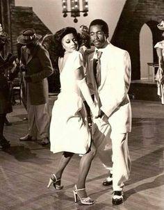 Debbie Allen dancing with Ben Vereen for his TV special, 1978 Just Dance, Shall We Dance, My Black Is Beautiful, Beautiful People, Burlesque, Arte Black, Debbie Allen, Vintage Black Glamour, Vintage Style