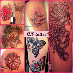 my tattoo... Check me in facebook for appointments : charlotte tattoo