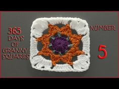 365 Days of Granny Squares Number 8 - YouTube
