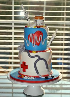 Awesome nurses cake!