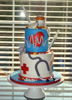 Awesome nurses cake!