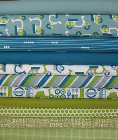 Fabricworm Custom Bundle, Rally Champ in FAT QUARTERS, 11 Total