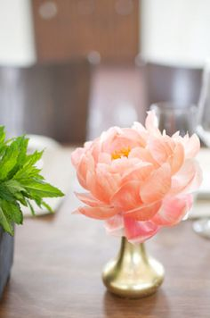 grey likes weddings - vibiana edible auditing with room forty - reception decor - table decor - centerpiece - peony