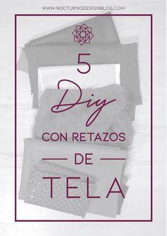 DIY: Bolso sin costuras + molde gratis. – Nocturno Design Blog Design Blog, Fabric Scraps, Sewing Projects, Diy, Cover, Books, Create, Jeans, Vestidos