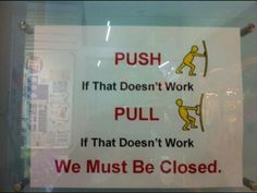 Funny Signs | Dump A Day we are closed, funny signs, - Dump A Day