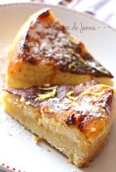 Tarte sablée au citron comme un cheesecake: à essayer avec de la crème de coco. Plus