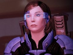 My custom Mass Effect 2 female Shepard (Femshep) by dinglouisa